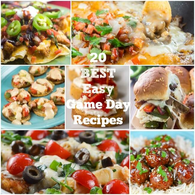 20 Best Easy Game Day Recipes