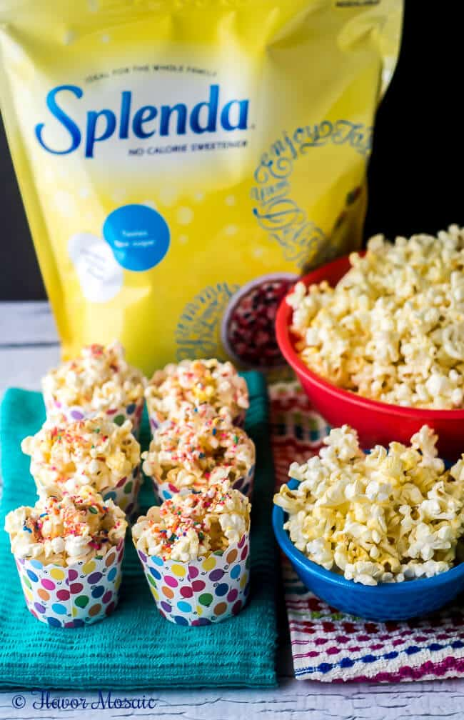 Confetti Kettle Corn Popcorn Recipe by Flavor Mosaic