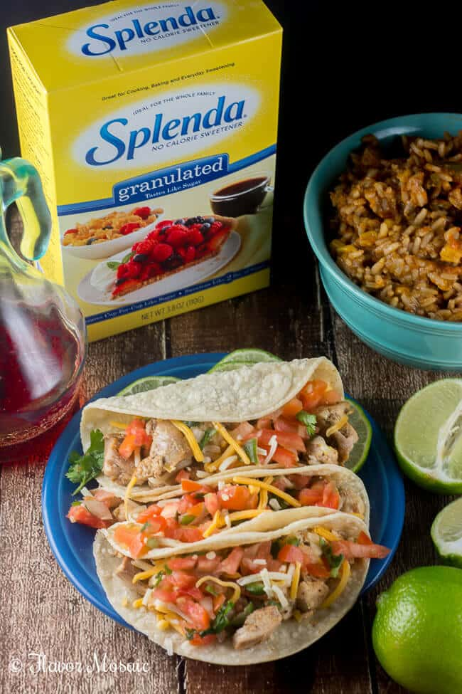 Lime Chicken Tacos