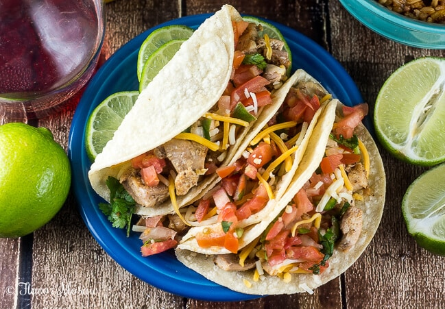 Lime Chicken Tacos 3