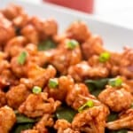 Maple Chipotle Barbecue Cauliflower
