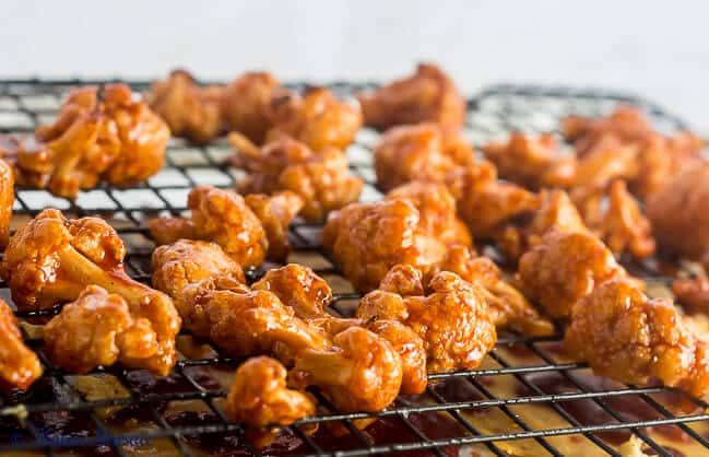 Maple Chipotle Barbecue Cauliflower by Flavor Mosaic