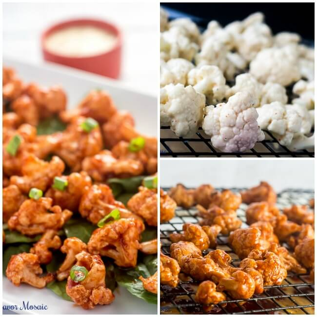 Maple Chipotle Barbecue Cauliflower Recipe by Flavor Mosaic