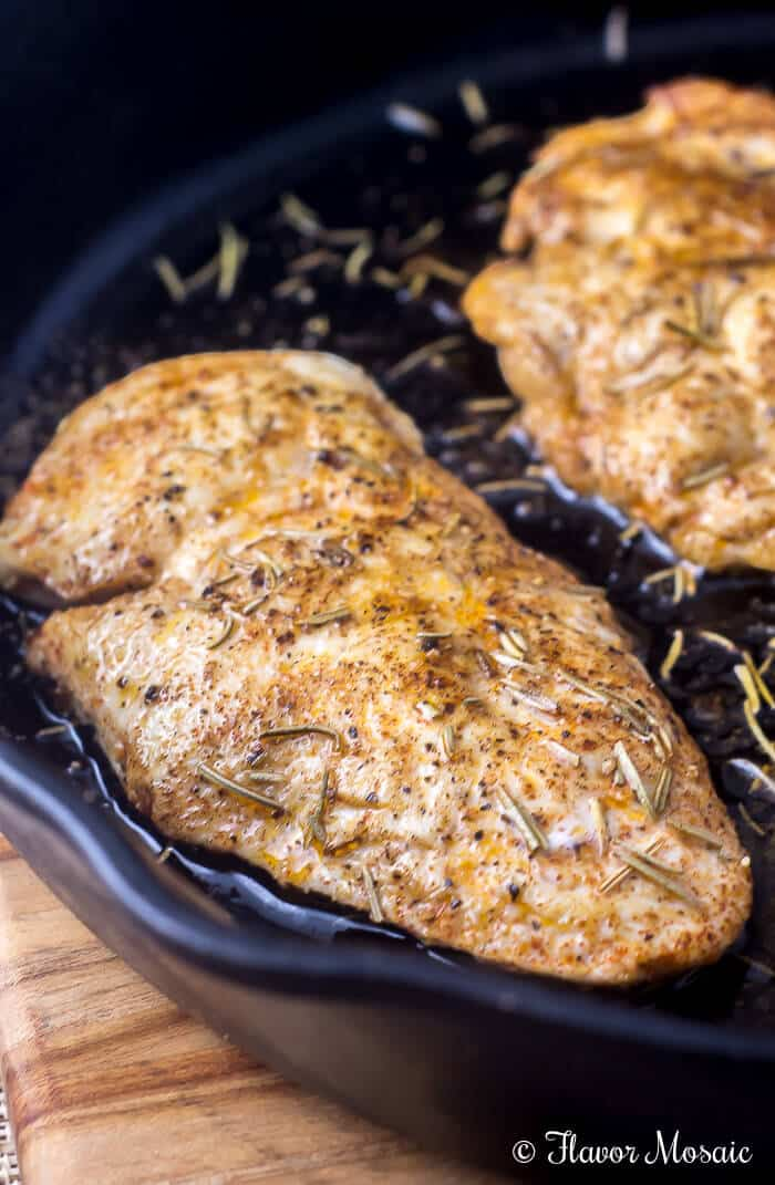 Oven Baked Chicken Breast by Flavor Mosaic