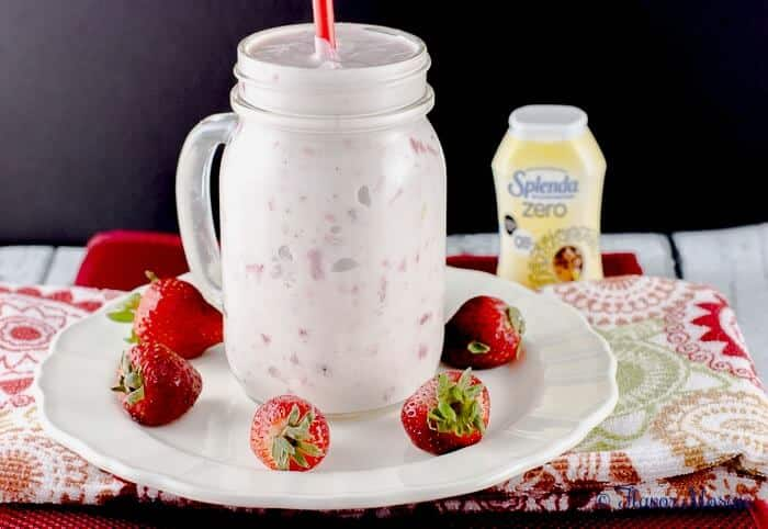 Strawberry Banana Yogurt with Vanilla Greek Yogurt