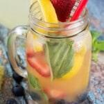 Berry Basil Lemonade