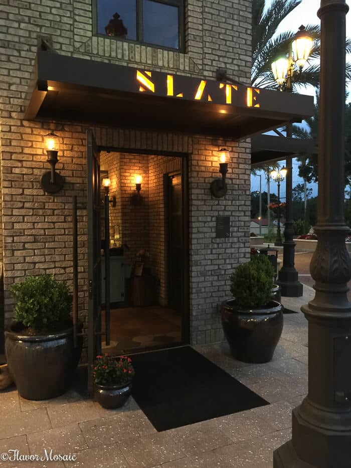Slate-Orlando-Restaurant-Review-Inviting-Entry