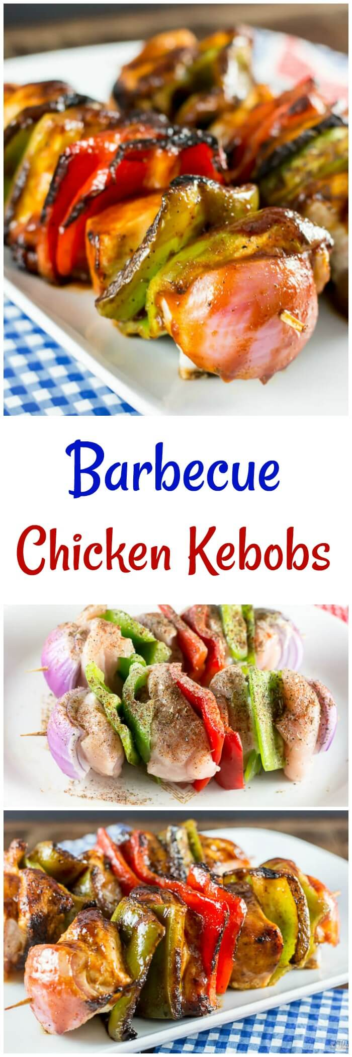 Barbecue Chicken Kebobs