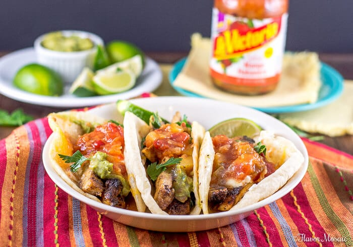 Blackened Chicken Tacos with Mango Habanero Salsa