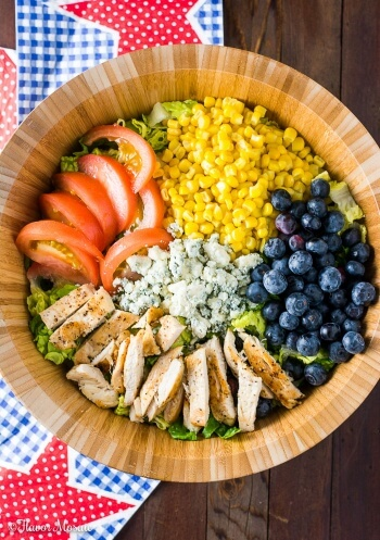 Blueberry Gorgonzola Farmer's Salad