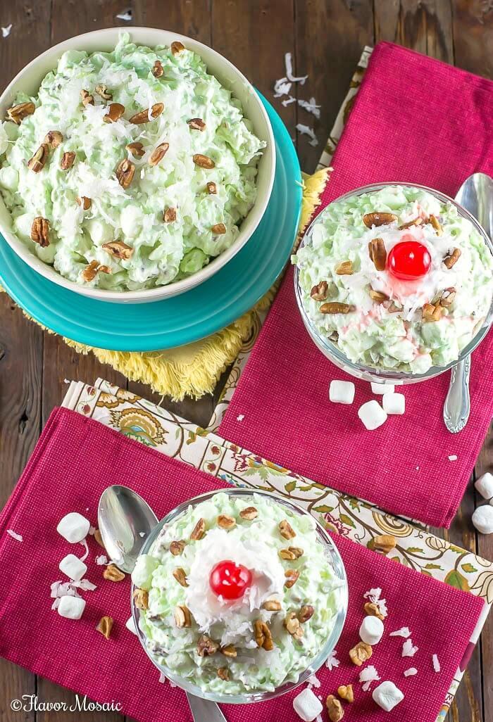 Watergate Salad - Pistachio Salad - Pistachio Fluff