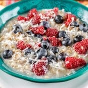 Berry Coconut Pecan Oatmeal