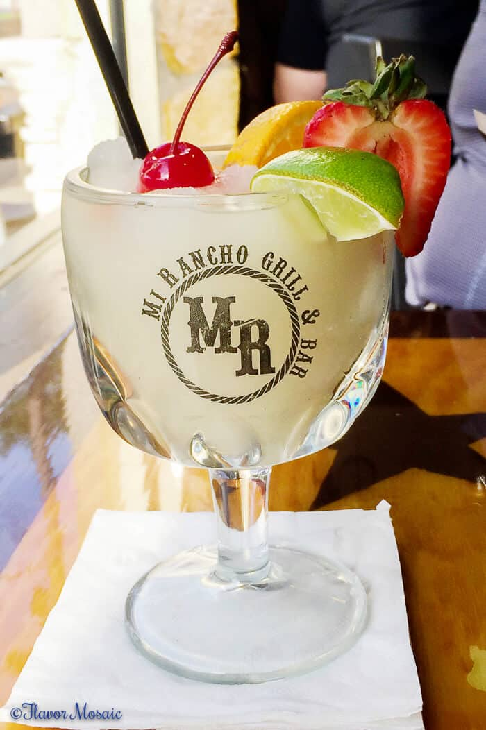Houston Food Guide - Best Margarita - Mi Rancho Grill and Bar