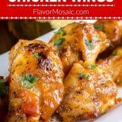 Mango Habanero Chicken Wings Pin Flavor Mosaic