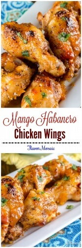 Mango Habanero Wings - Chicken Wings - Flavor Mosaic