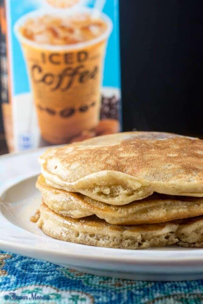 Caramel Macchiato Pancakes by Flavor Mosaic