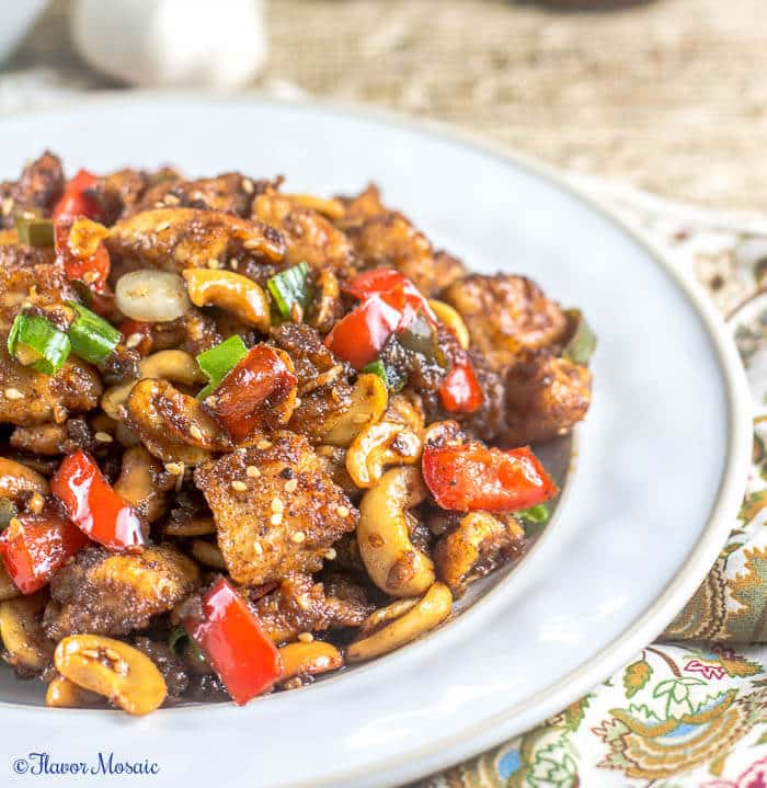 Easy Spicy Chinese Cashew Chicken