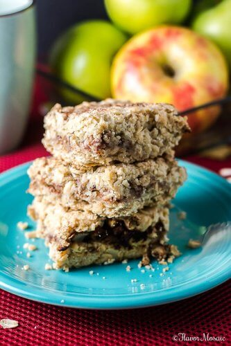 Apple Cinnamon Oat Crunch Bars