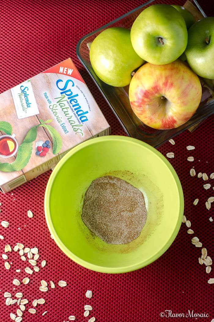 Apple Cinnamon Oat Crunch Bars