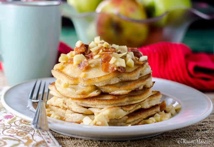 ... Maple Bacon Pancakes recipe. It was a huge success! Everyone at our