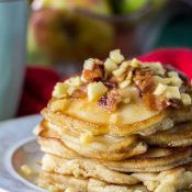 Apple Maple Bacon Pancakes