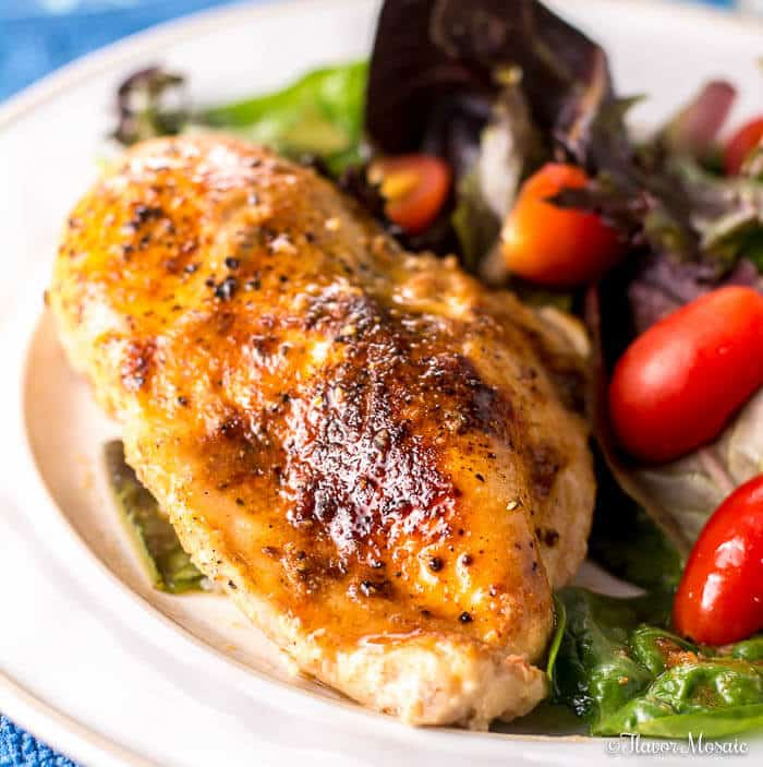 Easy Skillet Chicken Breast Weeknight Dinner Flavor Mosaic
