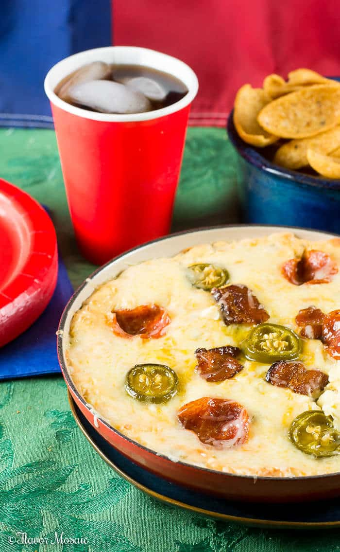 Jalapeno Popper Pepperoni Pizza Dip