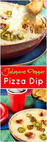 Jalapeno Popper Pizza Dip