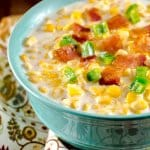 Homemade Creamed Corn with Jalapenos and Bacon
