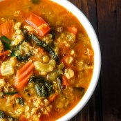 Lentil Soup with Mexican Chorizo