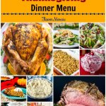 Thanksgiving Dinner Menu {With Recipes}