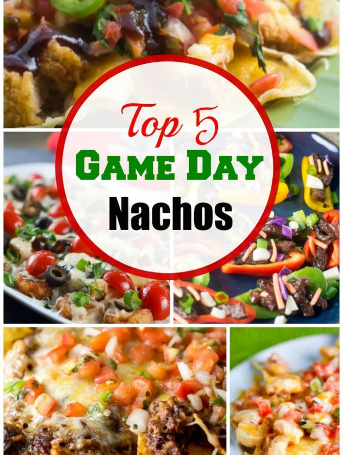 Top 5 Game Day Nachos by Flavor Mosaic