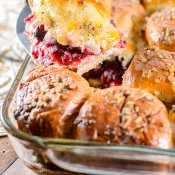 Turkey Sliders with Cranberry Sriracha Sauce