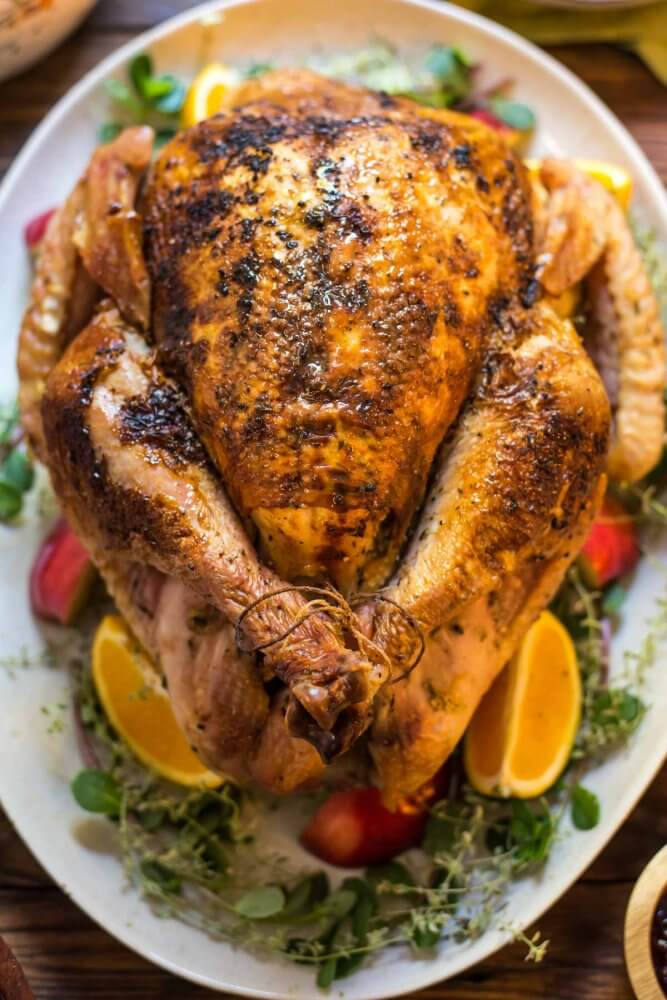 Braised Apple Cider Turkey
