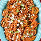 Chipotle Sweet Potatoes with Queso Fresco