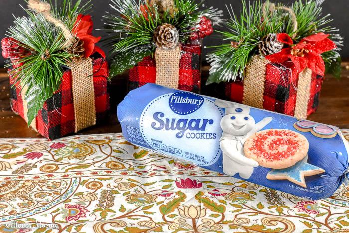 Peppermint Sugar Cookie Whoopie Pies