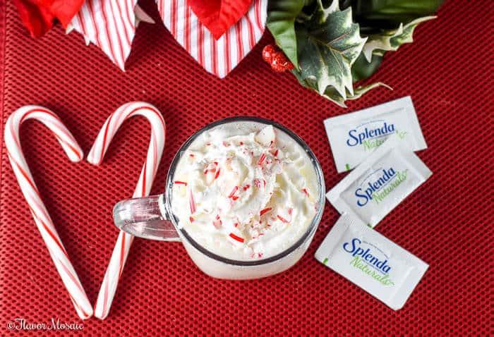 Peppermint White Hot Chocolate Flavor Mosaic