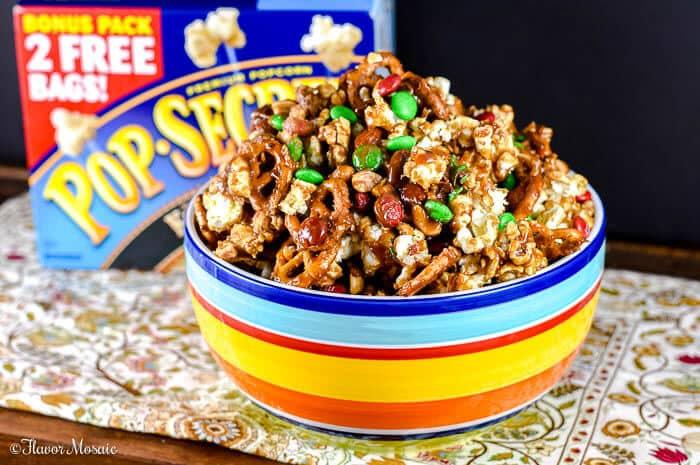 Reindeer Popcorn Crunch