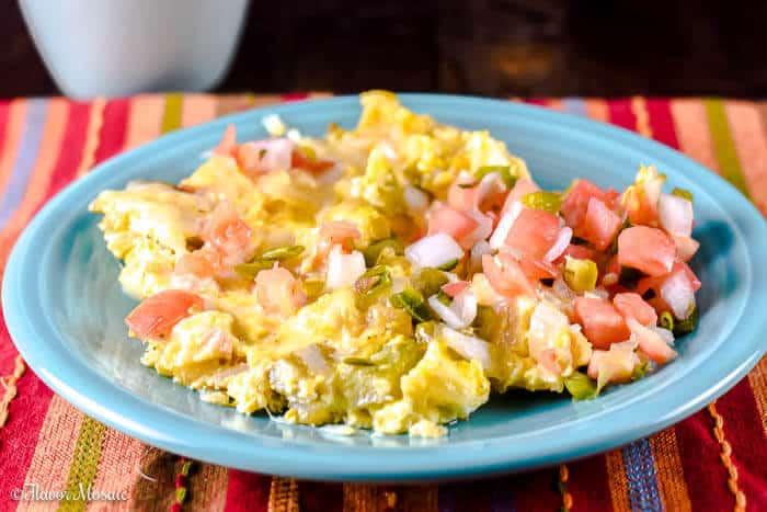 Migas (Tex Mex San Antonio Style) Breakfast