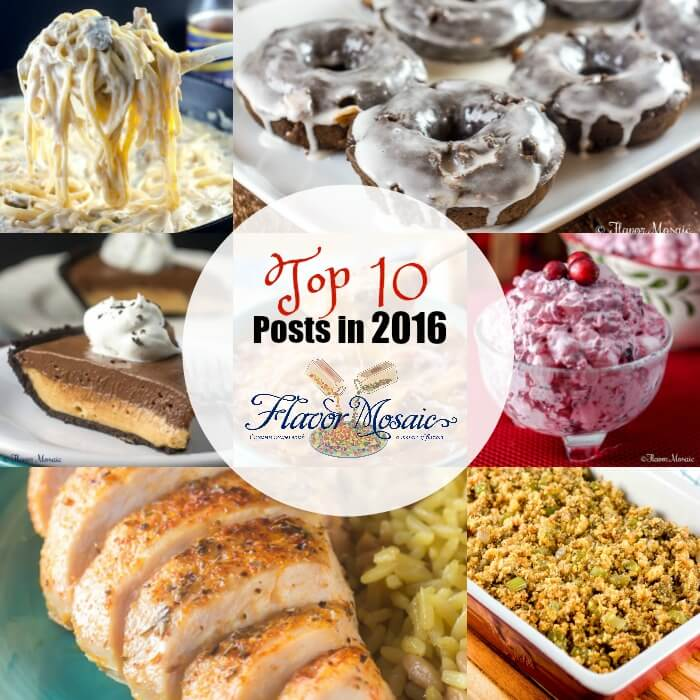 Top 10 Posts in 2016 Flavor Mosaic
