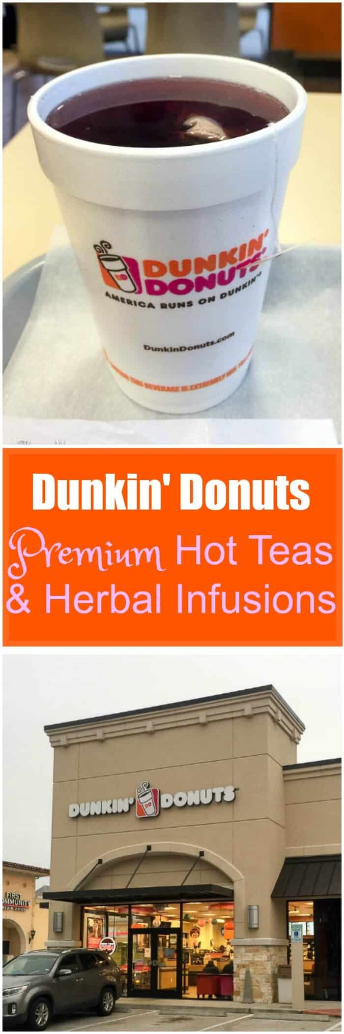 Dunkin Donuts Premium Hot Teas & Herbal Infusions