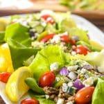 Greek Turkey Taco Lettuce Wraps