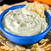 Creamy Avocado Dip for Healthy Snacking