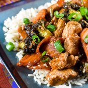 Turkey Stir Fry with Sesame Ginger Dressing-15 Image