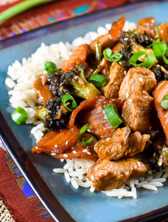 Turkey Stir Fry with Sesame Ginger Dressing-15 Image