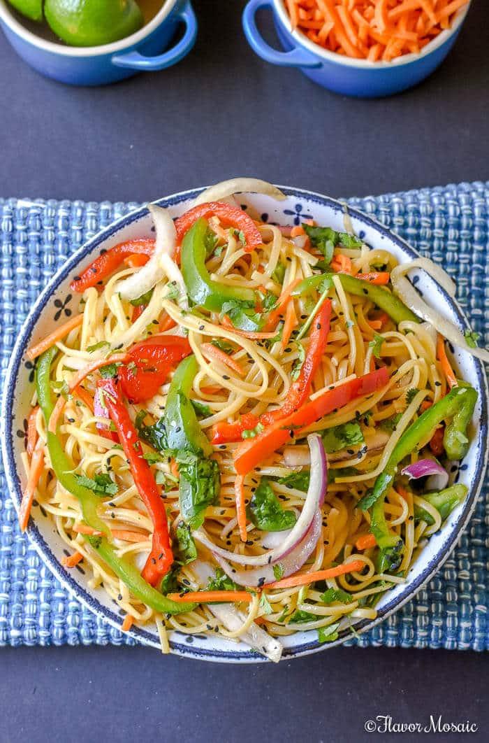 Spicy Thai noodle Salad