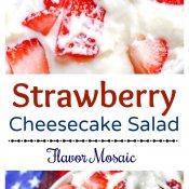 StrawBerry Cheesecake Salad