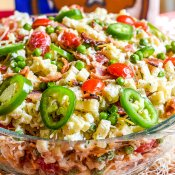 Bacon Ranch Pasta Salad Texas Style