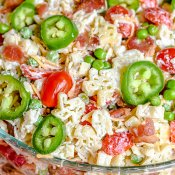 Bacon Ranch Pasta Salad Texas Style