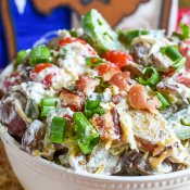 Bacon Ranch Potato Salad Texas Style